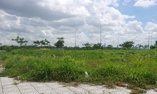 Giao dịch đất nền Sài Gòn giảm mạnh - Ảnh 1.