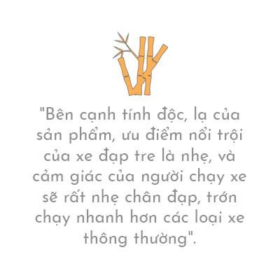 """(eMagazine) - Xe đạp tre """"Made in Trà Vinh"""" của nghệ nhân người Khmer - Ảnh 7."""