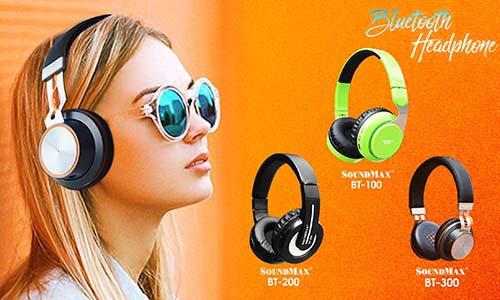 Bộ 3 tai nghe SoundMax rẻ, đẹp, năng động - Ảnh 1.
