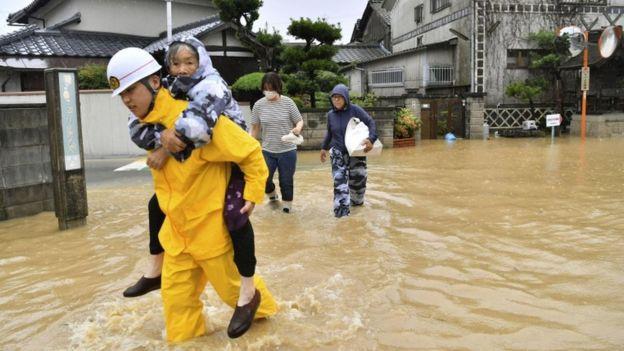 Mưa lũ Nhật Bản: Cái c.hết tức tưởi của người phụ nữ mới lấy chồng 3 tuần - ảnh 1