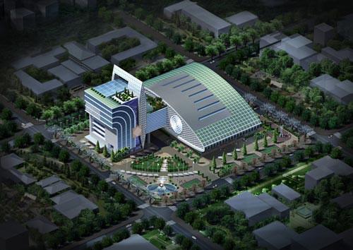 Dự án nhà thi đấu  Phan Đình Phùng đội vốn gấp đôi - Ảnh 1.