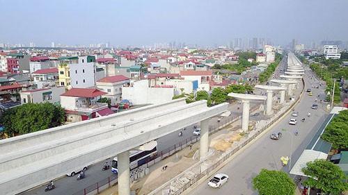 Nhiều bất cập tại dự án đường sắt đô thị Hà Nội - Ảnh 1.