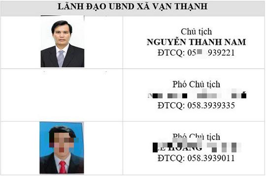 Đình chỉ bí thư kiêm chủ tịch UBND xã Vạn Thạnh ở Đặc khu Bắc Vân Phong - Ảnh 1.