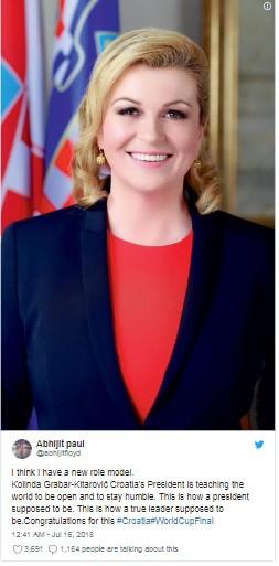 Nữ tổng thống Croatia đốn tim hàng triệu fan trên thế giới - Ảnh 8.