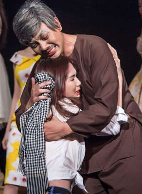 Nữ hoàng nội y Ngọc Trinh học diễn xuất - Ảnh 2.