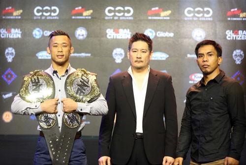 Martin Nguyễn sẵn sàng cho đai vô địch hạng gà - Ảnh 1.