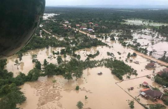 Thủ tướng quyết định hỗ trợ Lào 200.000 USD khắc phục vỡ đập thuỷ điện - Ảnh 3.