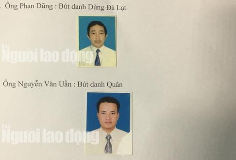 Chân dung hai đối tượng xưng nhà báo tống tiền CSGT - Ảnh 1.
