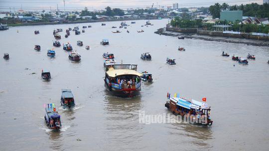 Tưng bừng Ngày hội Du lịch Văn hóa chợ nổi Cái Răng - Ảnh 4.