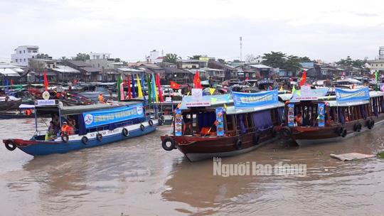 Tưng bừng Ngày hội Du lịch Văn hóa chợ nổi Cái Răng - Ảnh 6.