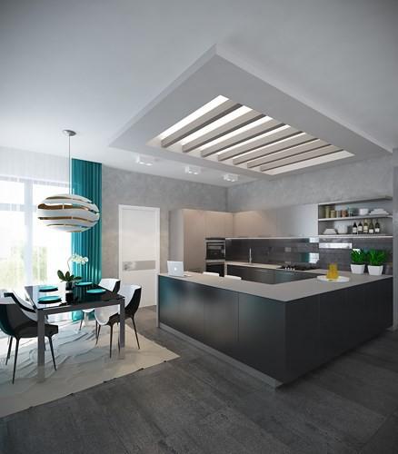 Căn hộ 2 phòng ngủ được xử lý màu sắc khéo léo - Ảnh 2.