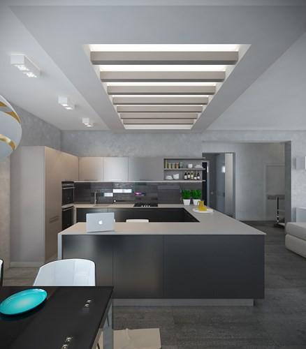 Căn hộ 2 phòng ngủ được xử lý màu sắc khéo léo - Ảnh 4.