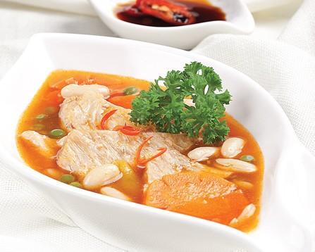 Mùa Vu lan làm sườn chay nấu đậu phụ thơm nức - Ảnh 3.