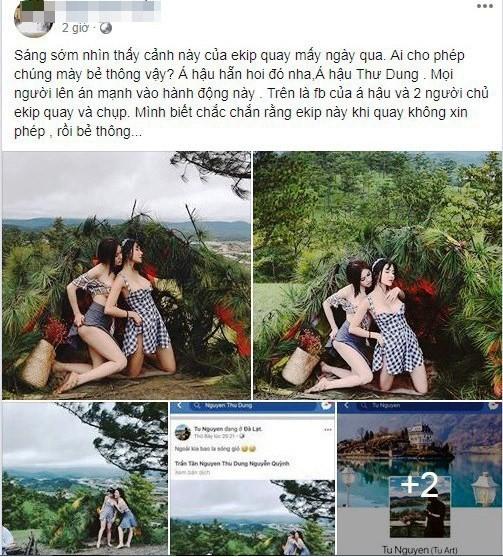 Vụ Á hậu Thư Dung chụp ảnh bôi bẩn Đà Lạt: Xử điểm du lịch chui - Ảnh 3.