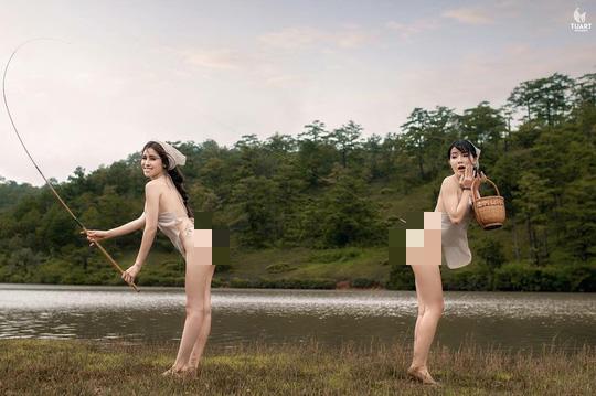 Cục Nghệ thuật Biểu diễn lên tiếng việc khoe thân của Á hậu Thư Dung - Ảnh 1.