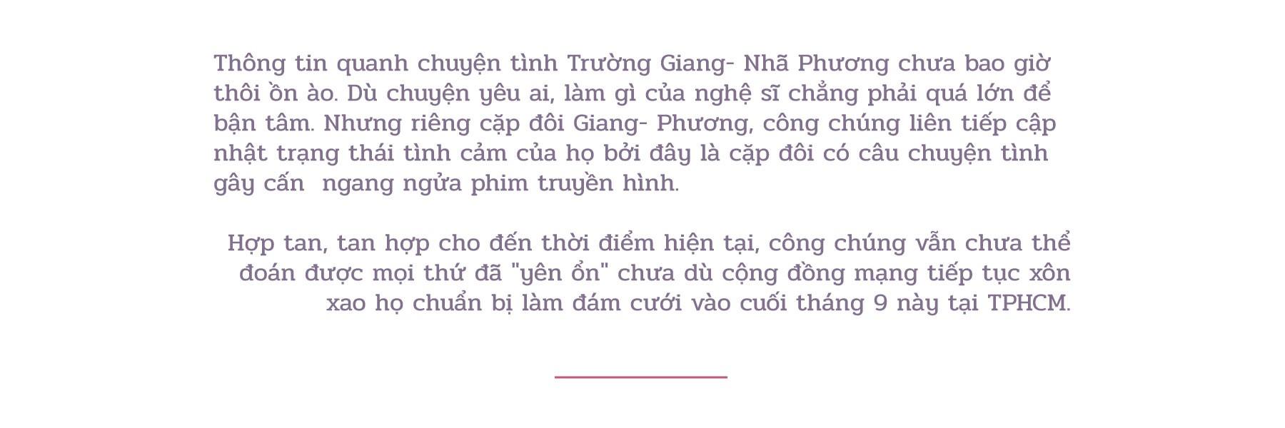 (eMagazine): Trường Giang - Nhã Phương viết lên câu chuyện tình - Ảnh 1.