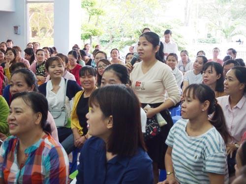 Gần 80.000 công nhân được phổ biến kiến thức pháp luật - Ảnh 1.