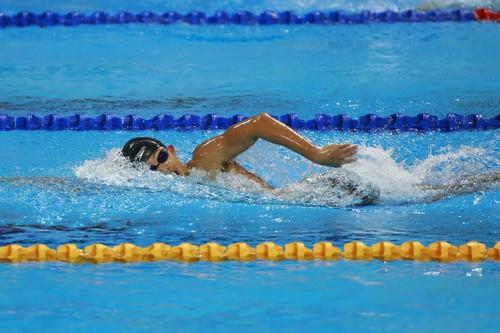 Kình ngư Nguyễn Huy Hoàng giành HCV 800m tại Thế vận hội trẻ - Ảnh 1.
