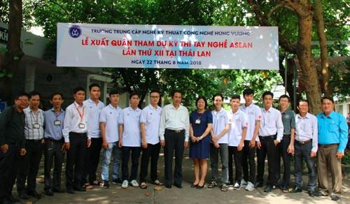 Việt Nam cử 52 thí sinh dự thi tay nghề ASEAN - Ảnh 1.