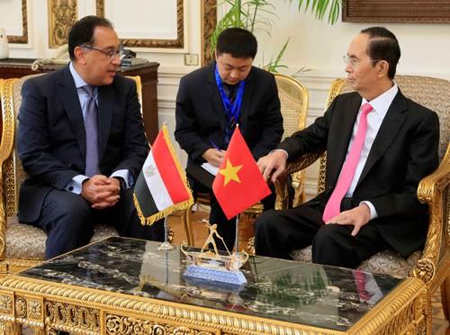 Ai Cập rộng cửa đón công ty Việt Nam - Ảnh 1.
