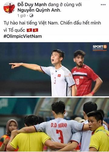 Dàn sao Olympic Việt Nam nói gì sau trận thắng Syria - Ảnh 7.