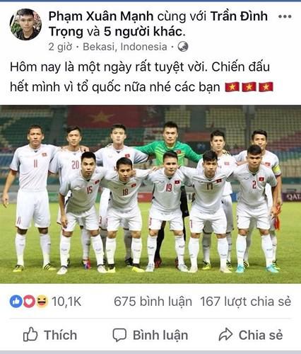 Dàn sao Olympic Việt Nam nói gì sau trận thắng Syria - Ảnh 9.