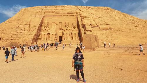 Cô gái Việt ức phát khóc vì bị vòi tiền ở Thung lũng các vị vua - Ai Cập - Ảnh 1.