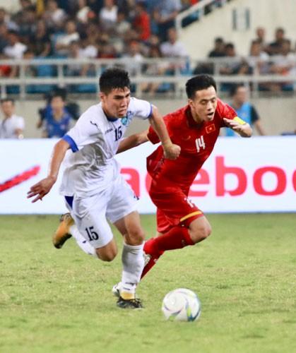 Olympic Việt Nam loại Đặng Văn Lâm - Ảnh 1.