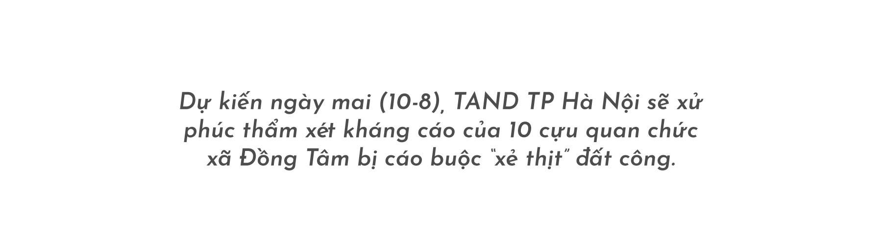(eMagazine) - 10 cựu quan chức Đồng Tâm trước ngày phúc thẩm - Ảnh 1.