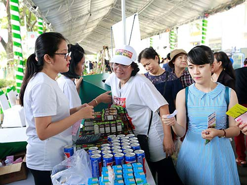 Suntory PepsiCo Việt Nam đồng hành cùng Ngày hội Xanh Phú Mỹ Hưng 2018 - Ảnh 1.