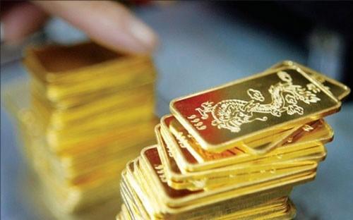 Giá vàng trong nước lên gần 37 triệu đồng/lượng - Ảnh 1.