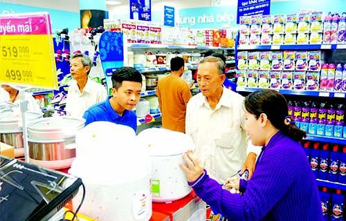 Hàng Asean giảm giá tại siêu thị
