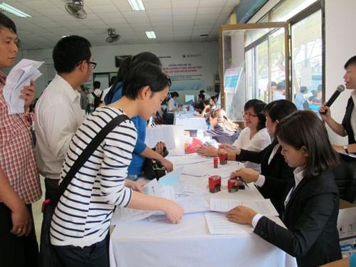 Tỉ lệ lao động thất nghiệp được hỗ trợ học nghề còn thấp - Ảnh 1.