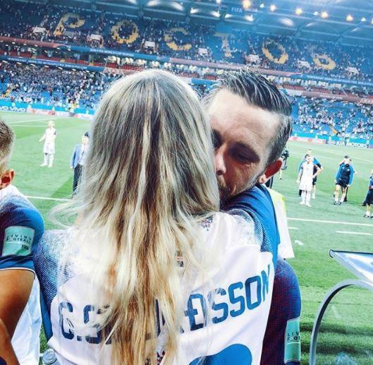 Ngắm bà Becks xinh đẹp của bóng đá Iceland - Ảnh 7.