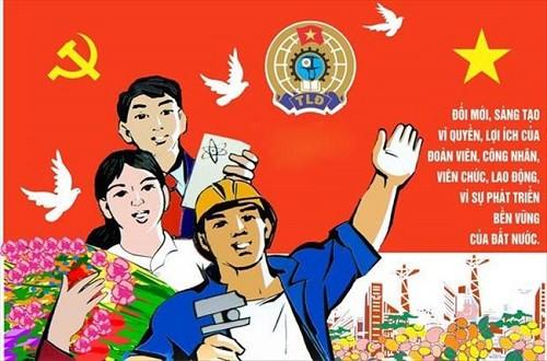 Công đoàn Việt Nam qua 1 số kỳ đại hội - Ảnh 3.