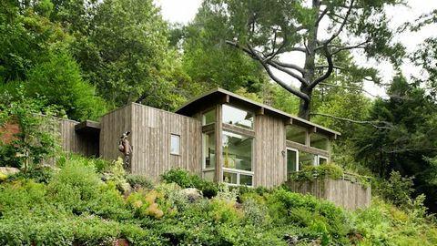 Cách giảm nhiệt ngày hè cho ngôi nhà đẹp qua thiết kế - Ảnh 1.