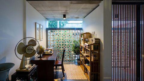 Cách giảm nhiệt ngày hè cho ngôi nhà đẹp qua thiết kế - Ảnh 3.