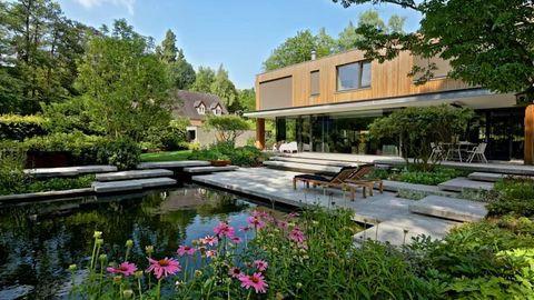 Cách giảm nhiệt ngày hè cho ngôi nhà đẹp qua thiết kế - Ảnh 5.