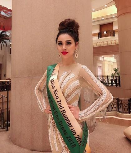 Thư Dung bị thu hồi danh hiệu á hậu Miss Eco International - Ảnh 1.