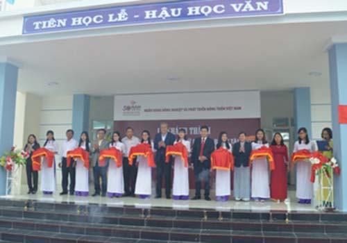 Khánh thành Trường Tiểu học Ninh Chữ, Ninh Thuận: Niềm vui thầy và trò Ninh Chữ - Ảnh 1.