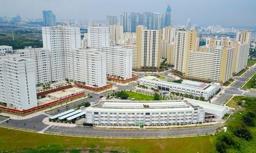150 triệu đồng mỗi m2 đất gần khu tái định cư lớn nhất Sài Gòn - Ảnh 1.