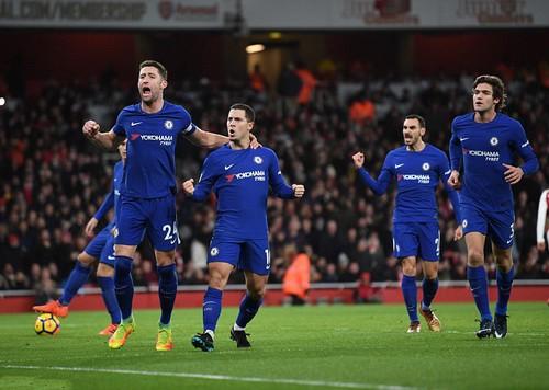 Nghẹt thở trận derby, Arsenal hòa Chelsea ở Emirates - Ảnh 6.