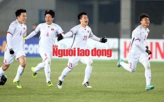 U23 Việt Nam - Qatar 2-2 (penalty 4-3): Viết tiếp chuyện thần kỳ! - Ảnh 27.