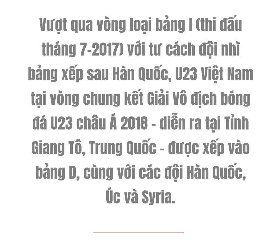 (eMagazine) - Hành trình vào bán kết cúp châu Á của tuyển U23 Việt Nam - Ảnh 1.