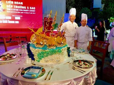 Khách sạn Rex Saigon đạt 2 giải thưởng lớn trong Liên hoan bếp trưởng 5 sao - Ảnh 2.