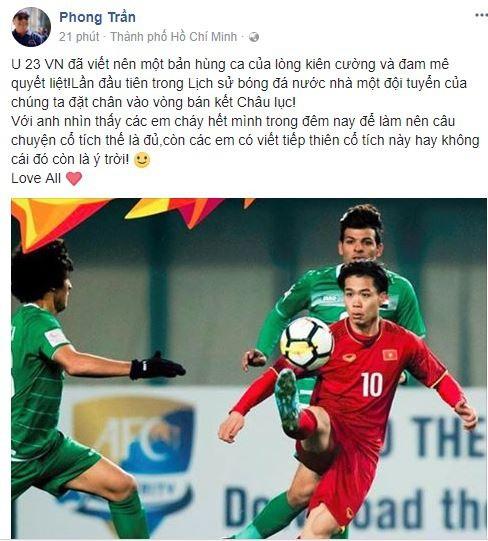 Sao Việt vỡ òa cùng chiến thắng của U23 Việt Nam - Ảnh 11.