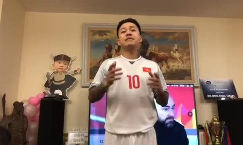 Khoảnh khắc sao Việt mừng U23 Việt Nam chiến thắng - Ảnh 12.