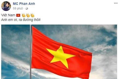 Sao Việt vỡ òa cùng chiến thắng của U23 Việt Nam - Ảnh 14.