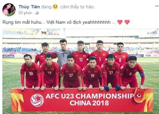 Sao Việt vỡ òa cùng chiến thắng của U23 Việt Nam - Ảnh 15.