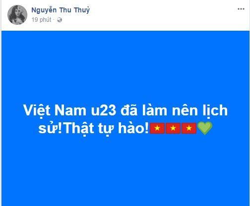 Sao Việt vỡ òa cùng chiến thắng của U23 Việt Nam - Ảnh 19.
